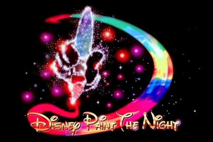 Disney Paint The Night Parade Hong Kong Disneyland Logo