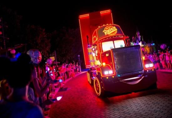 Disney Paint The Night Parade Hong Kong Disneyland Pixar Cars