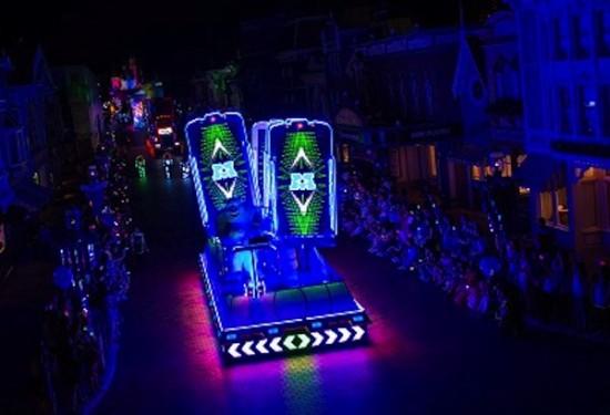 Disney Paint The Night Parade Hong Kong Disneyland Pixar Monsters Inc