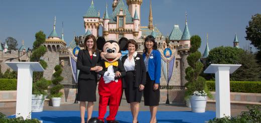 2015 Disneyland Ambassador Team Jessica Bernard Allie Kawamoto Mickey Mouse