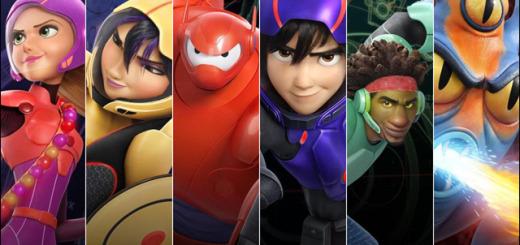 Disney Big Hero 6 Character Lineup