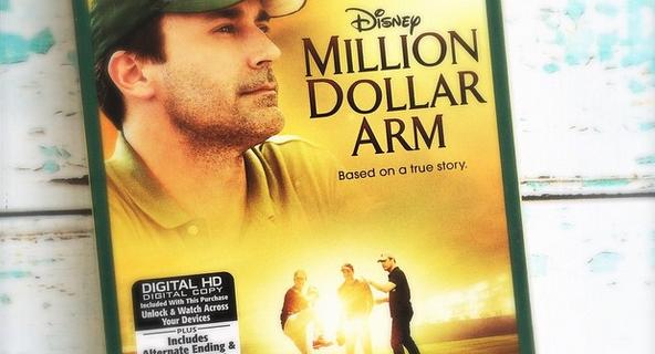 Disney Million Dollar Arm Blu Ray Combo Pack