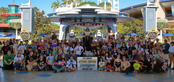 Disneyland Star Wars Day Group Picture