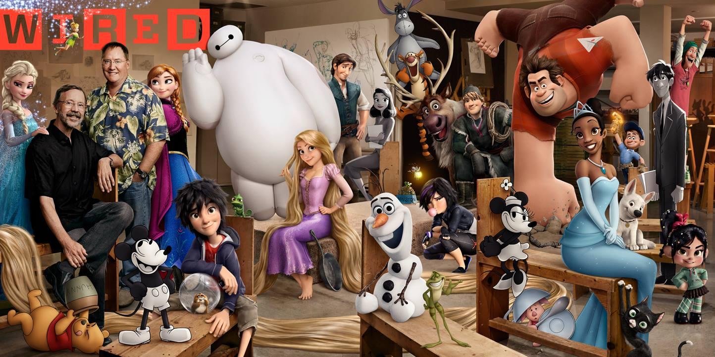 Walt Disney Animation Studios Character Lithograph | DisneyExaminer