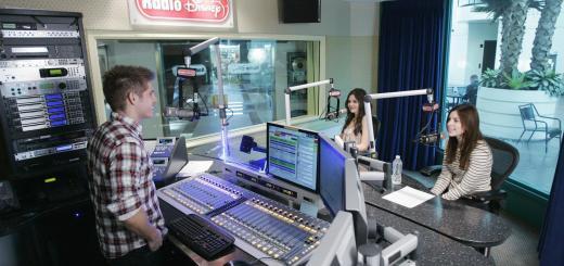Radio Disney Broadcasting Booth