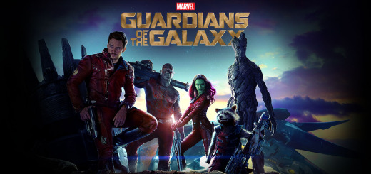 Disney Marvel Guardians Of The Galaxy Blu Ray Poster
