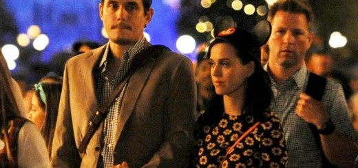 John Mayer Katy Perry Disneyland Celebrities