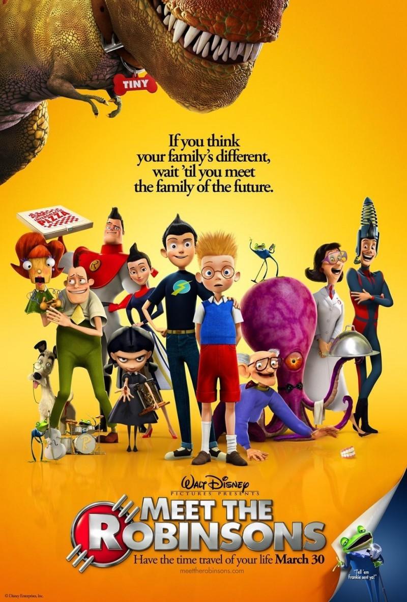 Disney Meet The Robinsons Poster
