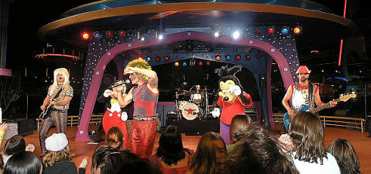 Disneyland Tomorrowland Terrace Band 80z Allstars