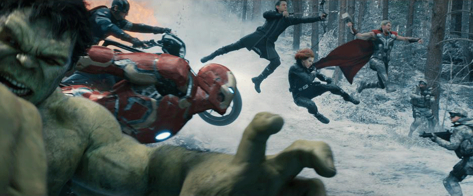 Avengers: Age of Ultron in action