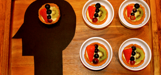 Disney Pixar Inside Out Mini Eggnog Fruit Tart Recipe 1