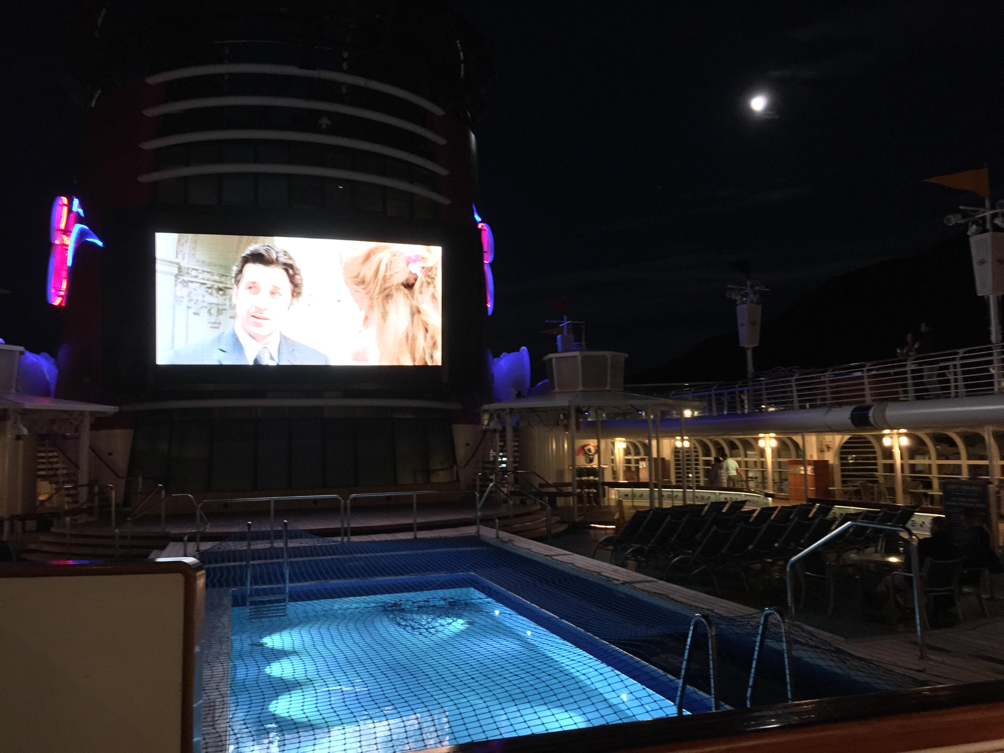 Whats Really On A Disney Cruise Disneyexaminer Nighttime