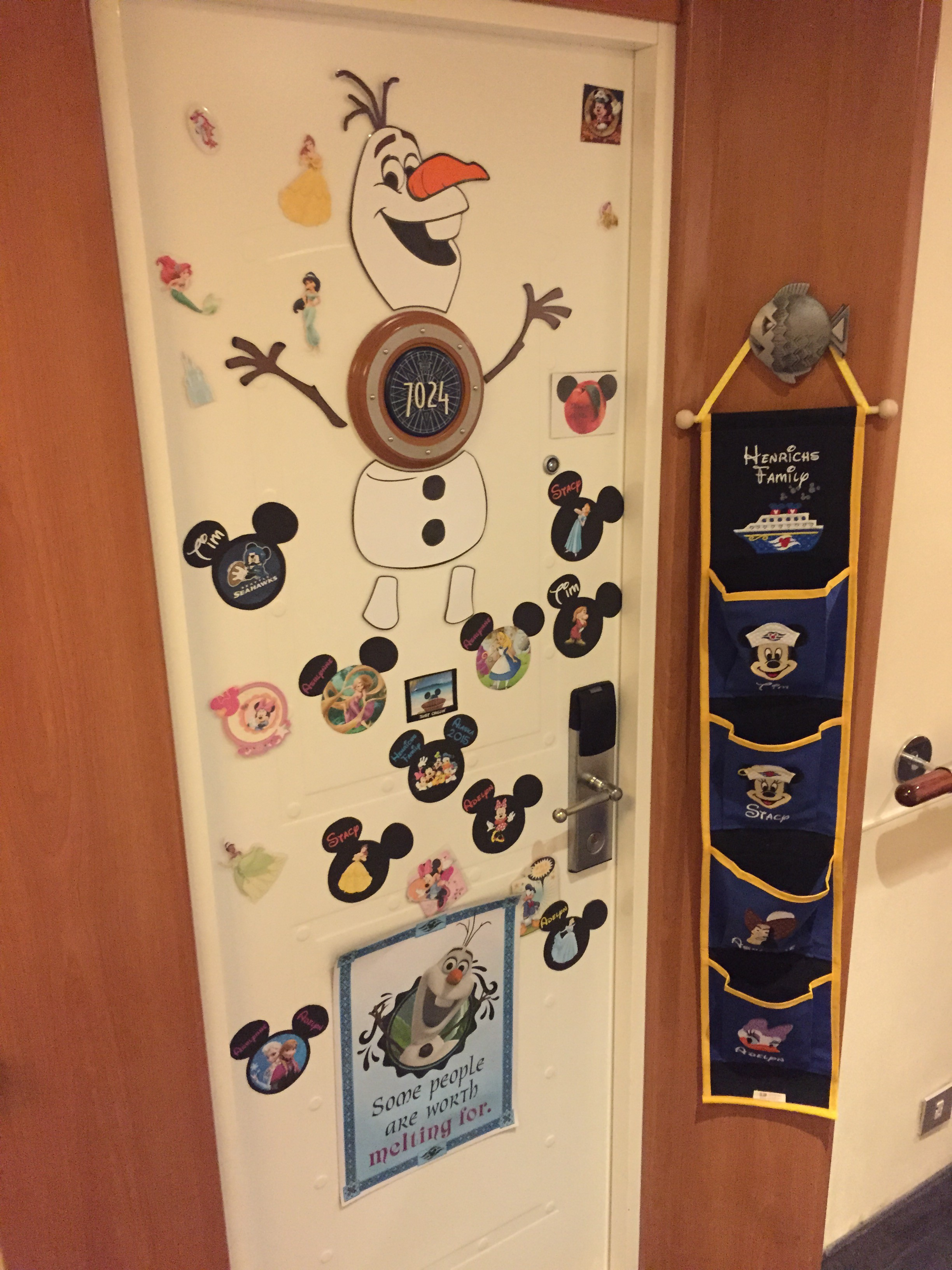 Whats Really On A Disney Cruise Disneyexaminer Stateroom Door