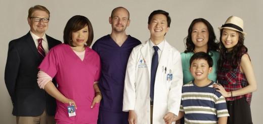 Disney Abc Dr Ken Cast Group Photo