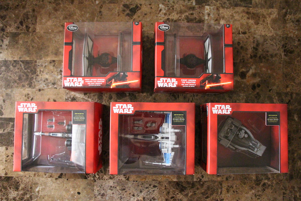 Disney Store Star Wars The Force Awakens Die Casts
