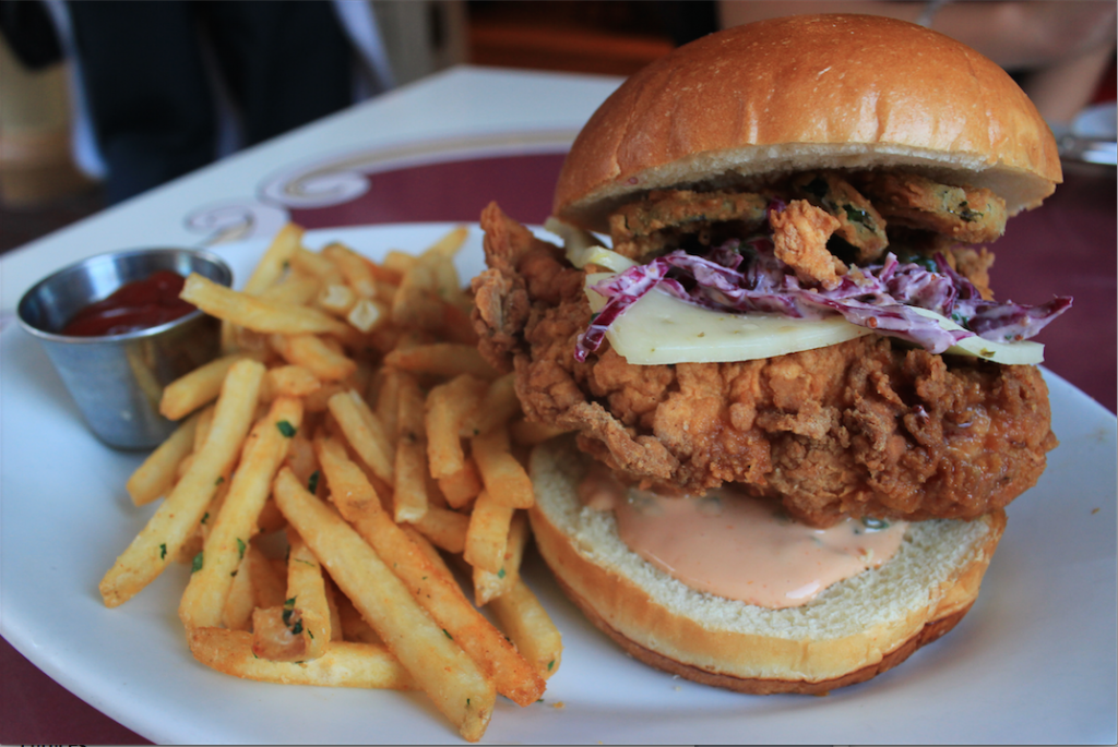 Disneyland Fried Chicken Sandwich