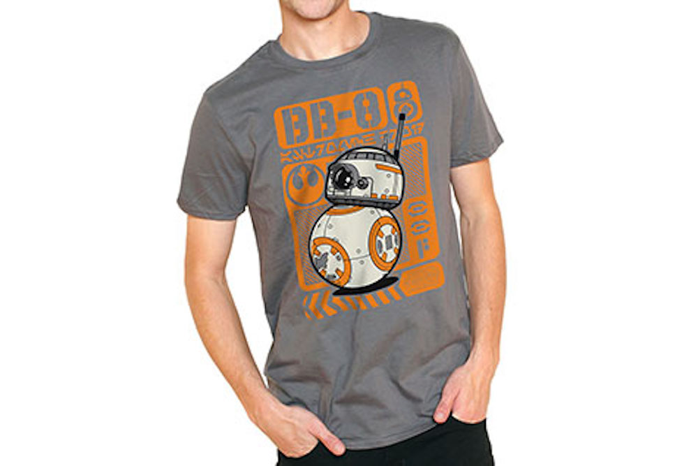 funko pop star wars t shirts bb8 disneyexaminer. Black Bedroom Furniture Sets. Home Design Ideas
