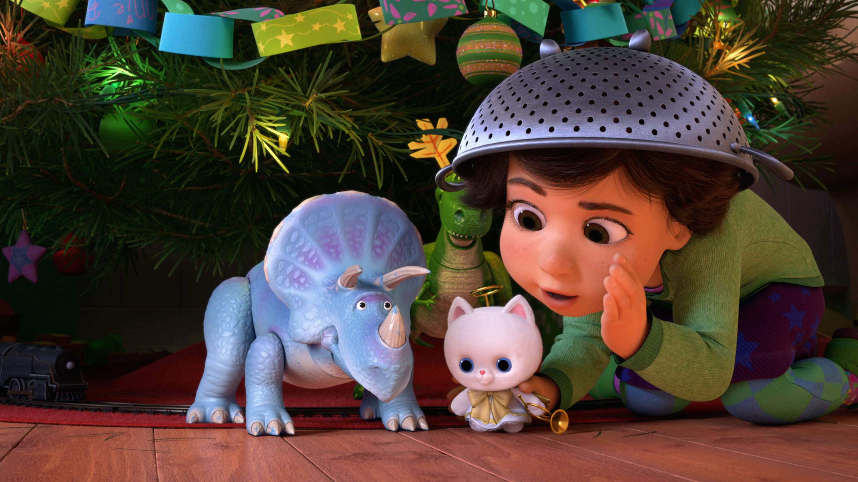 Toy Story That Time Forgot Blu Ray Review Disneyexaminer Trixie