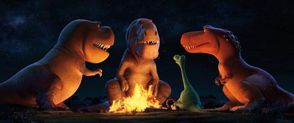 A TRIO OF T-REXES (c) Pixar Animation Studios