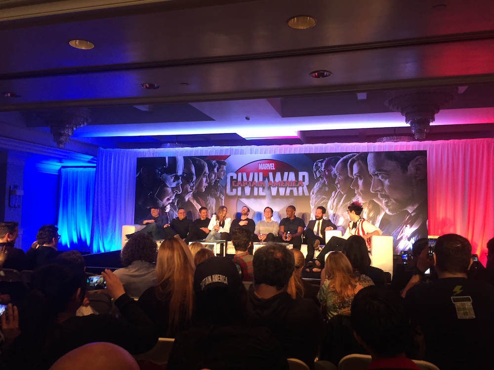 #TeamCap at the Global Press Conference