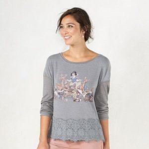 Disney's Snow White A Collection by LC Lauren Conrad Graphic Top Lauren Conrad Kohls Gift Ideas Grown Ups