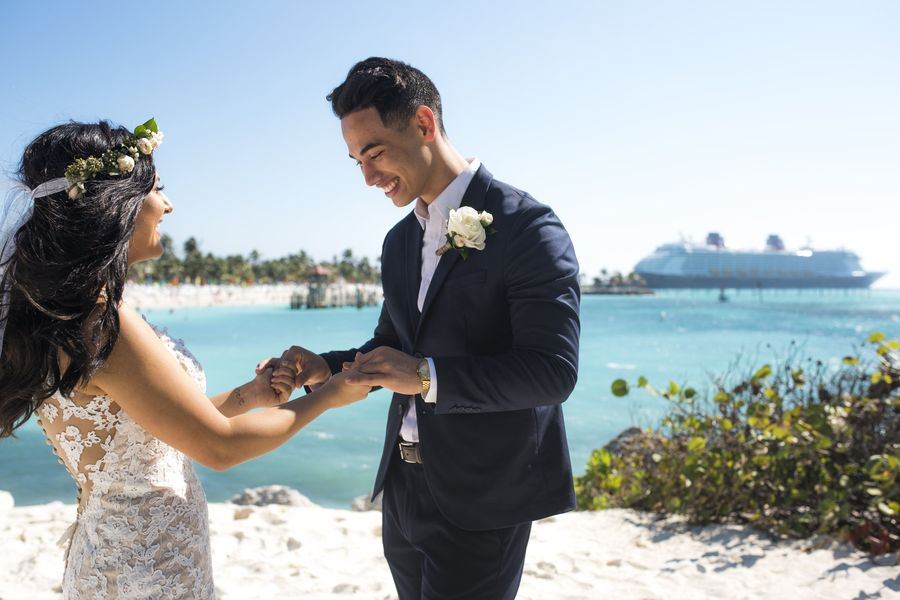 Disney Fairy Tale Weddings Freeform Disney Cruise Wedding