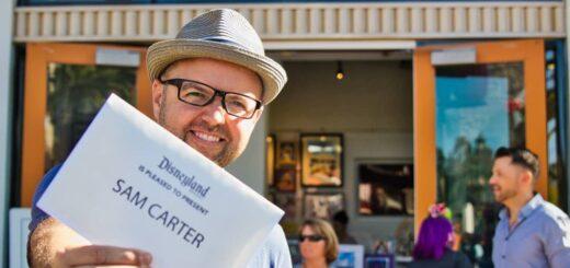Sam Carter Disneyland Experience Designer